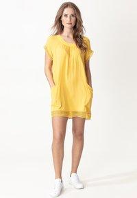 Indiska - MARSHA - Day dress - yellow - 0