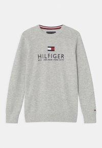 Tommy Hilfiger - Strikpullover /Striktrøjer - light grey heather - 0