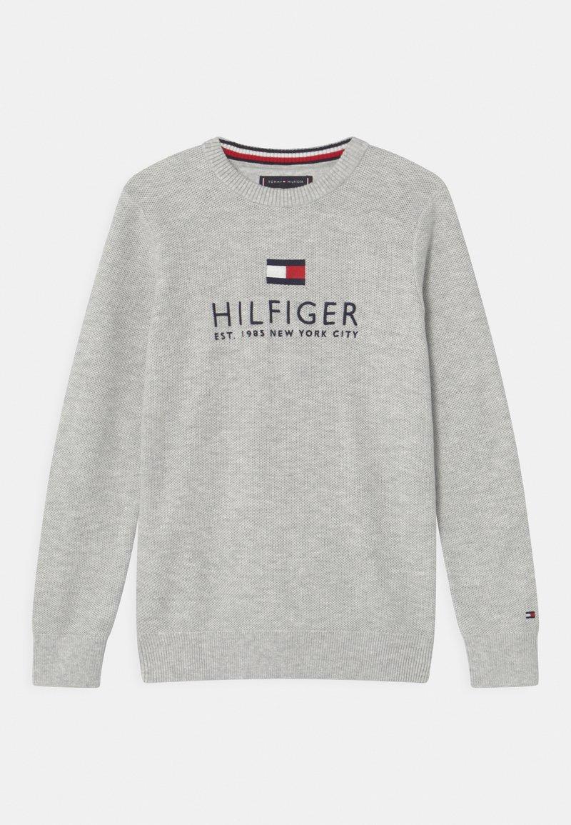 Tommy Hilfiger - Strikpullover /Striktrøjer - light grey heather