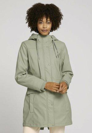 Waterproof jacket - herbal tea green