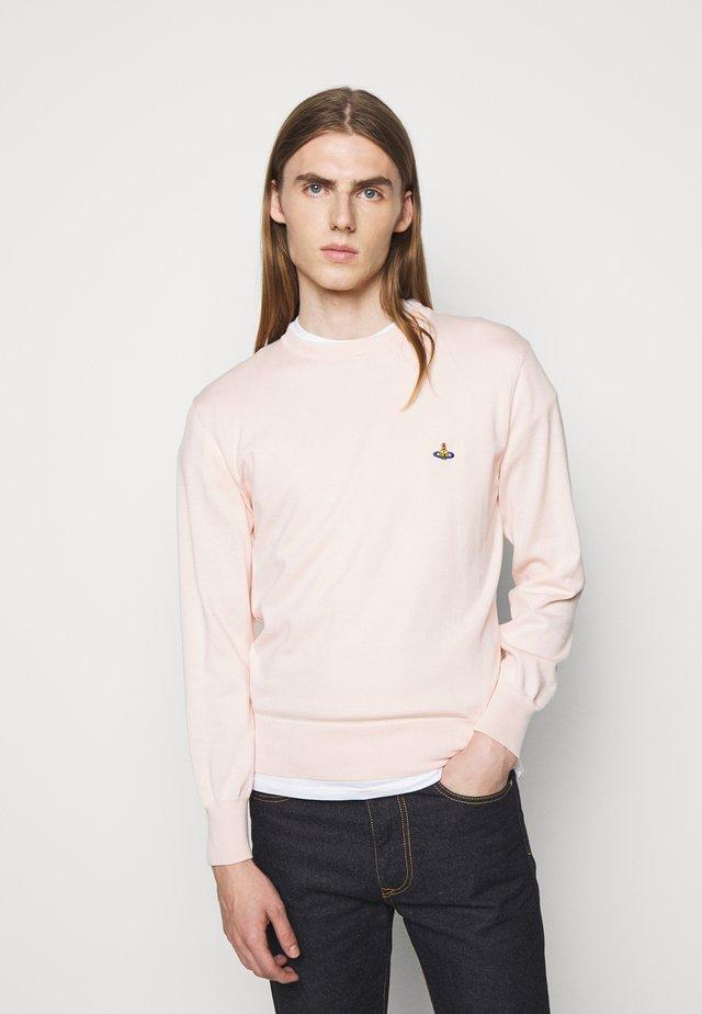CLASSIC ROUND NECK UNISEX - Sweter - pink