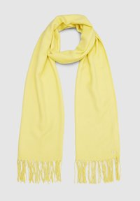 s.Oliver - Scarf - light yellow - 4
