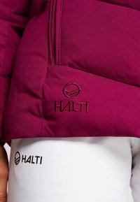 Halti - SAMMU SKI JACKET - Ski jas - magenta purple - 6
