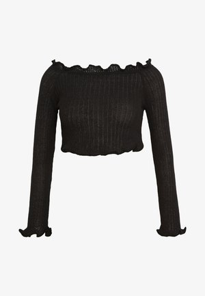 EXCLUSIVE BARDOT - Jumper - black