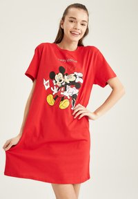 DeFacto - DISNEY - Nightie - red - 0