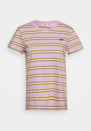 PERFECT TEE - T-shirt con stampa - borough lavender frost