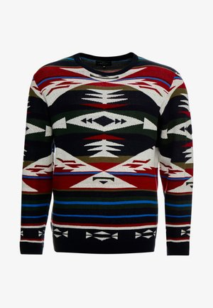 MILES - Sweter - brick red