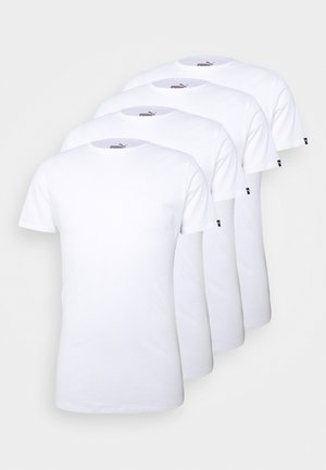 4 PACK BASIC CREW TEE - Pyjama top - white