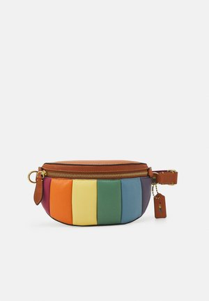 PRIDE RAINBOW PUFFY QUILTED BETHANY BELT BAG - Bum bag - natural/multi
