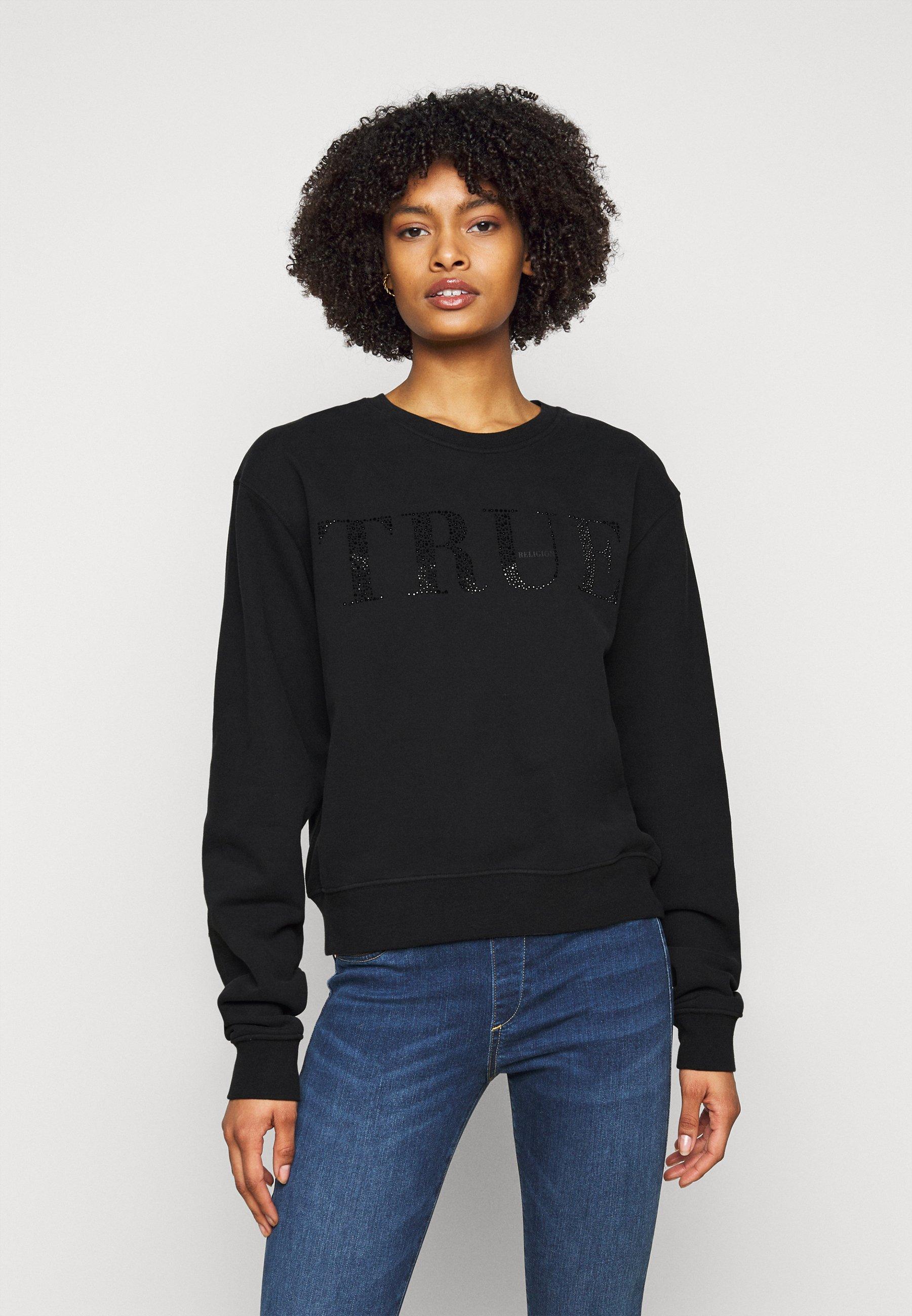 Women BOXY CREW NECK - Sweatshirt