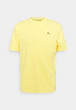 GAFTER UNISEX - T-shirt print - banana cream