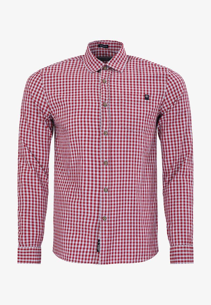 Felix Hardy - Shirt - bordeaux