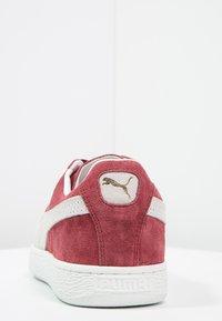 Puma - SUEDE CLASSIC+ - Sneakers - bordeaux/beige - 3