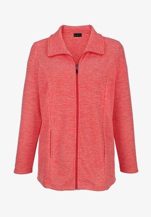 Fleece jacket - koralle