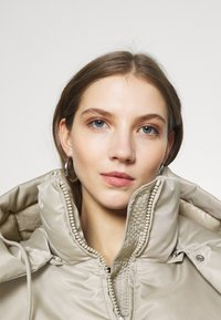 Weekday - HANNA SHORT PUFFER JACKET - Winter jacket - beige - 4