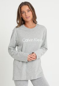Calvin Klein Underwear - CREW NECK - Pyjama top - grey - 0