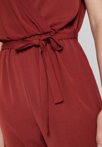 Even&Odd - Tuta jumpsuit - dark red - 5