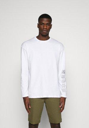 JORSUMIRE TEE CREW NECK  - Long sleeved top - white