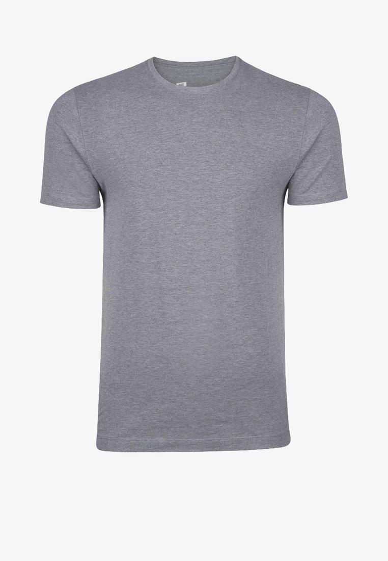 WE Fashion HERREN - T-Shirt basic - light grey/hellgrau qpX7vc