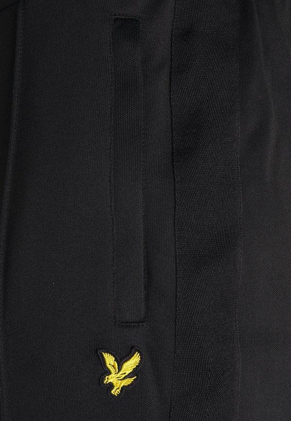 Lyle & Scott TRACK PANT WITH TAPING - Spodnie treningowe - jet black/czarny Odzież Męska ODWK