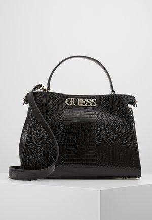 UPTOWN CHIC TURNLOCK SATCHEL - Handbag - black