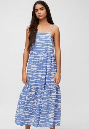 Maxi šaty - multi/intense blue