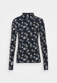 Marks & Spencer London - FUN FLORA - Long sleeved top - black - 0