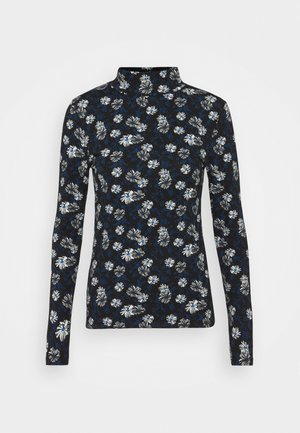 FUN FLORA - Long sleeved top - black