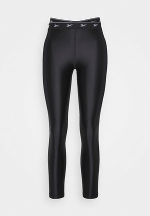 HIGH SHINE - Leggings - black