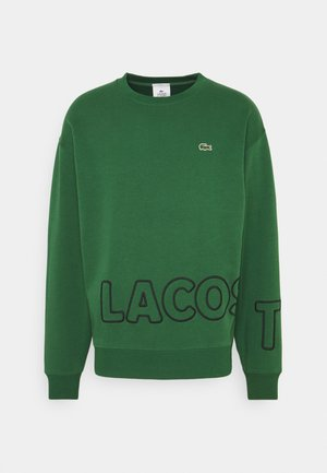 Sweater - green/black