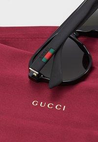 Gucci - Sunglasses - black/black/green - 4