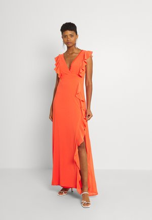 ISABEEN - Maxi dress - coral
