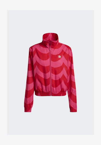 Treningsjakke - vivid red/team real magenta