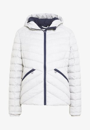 ESSENTIALS HELIO PADDED JACKET - Lehká bunda - grey marl
