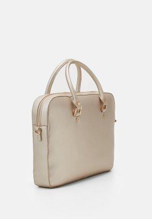 BRIEFCASE - Handbag - light gold