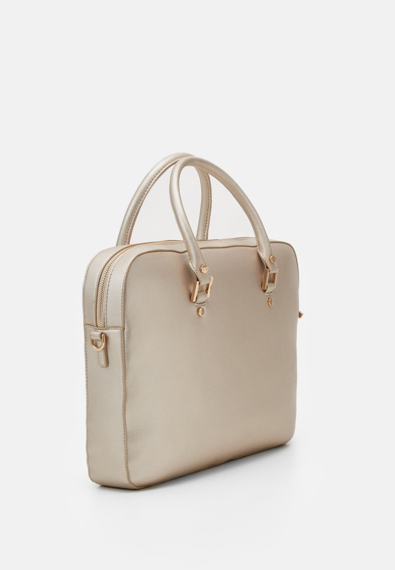 LIU JO - BRIEFCASE - Borsa a mano - light gold