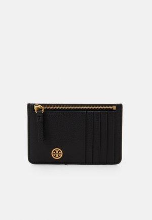 WALKER TOP ZIP CARD CASE - Wallet - black