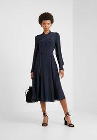 Strenesse - DRESS DEAUVILLE - Shirt dress - navy - 1