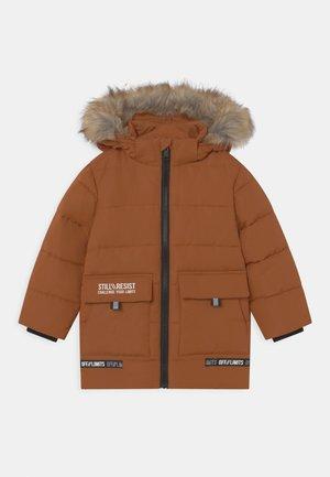 KID - Winterjas - copper brown