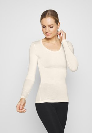 HEAT GEN LONG SLEEVE - Undershirt - light cream