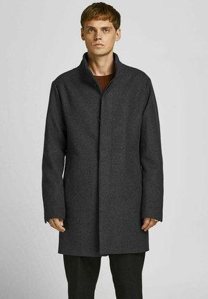 Short coat - dark grey melange