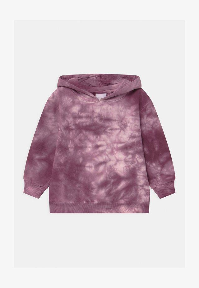 RILLE TIE DYE HOODIE - Felpa - potent purple