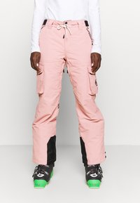 Superdry - FREESTYLE PANT - Schneehose - soft pink - 3