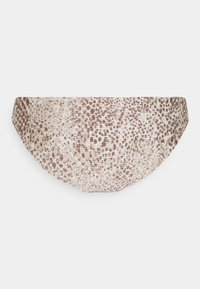 Seafolly - SERPENTINE HIPSTER - Bikini bottoms - chocolate - 6