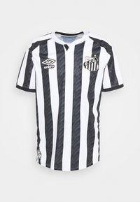 Umbro - SANTOS AWAY - Klubbkläder - white/black/blue - 0