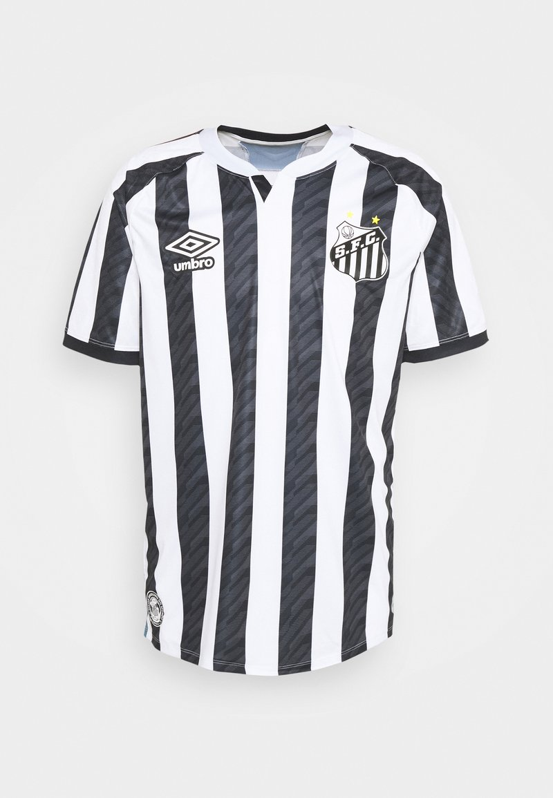 Umbro - SANTOS AWAY - Klubbkläder - white/black/blue