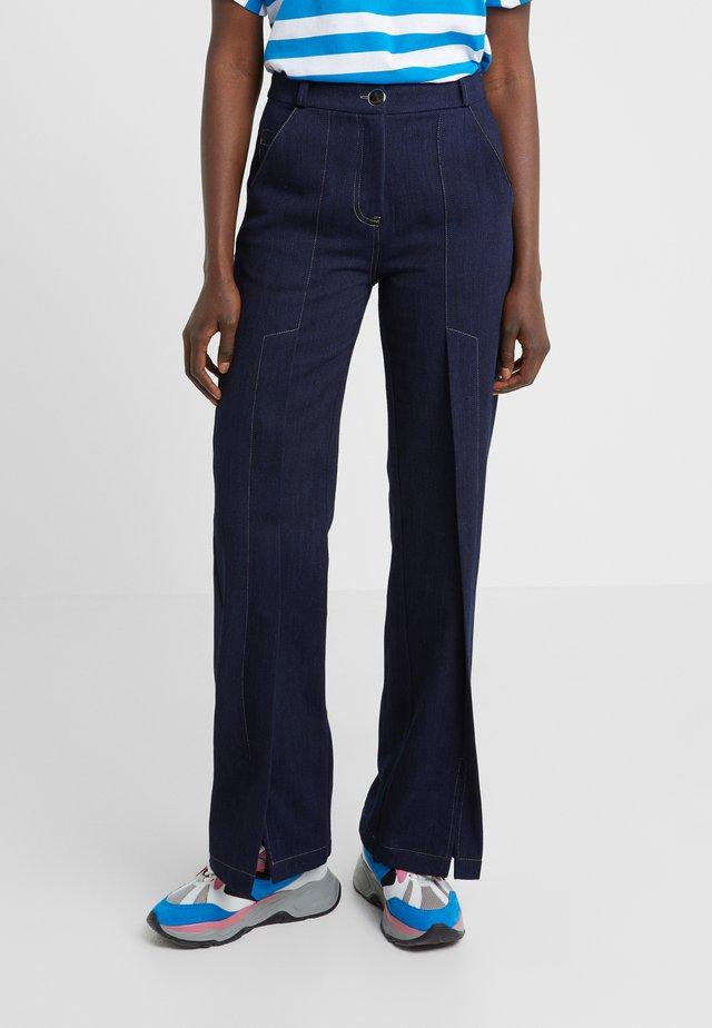 HAVVA - Straight leg jeans - denim