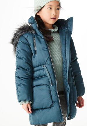 SHOWER RESISTANT PADDED JACKET (3-16YRS) - Winter coat - teal