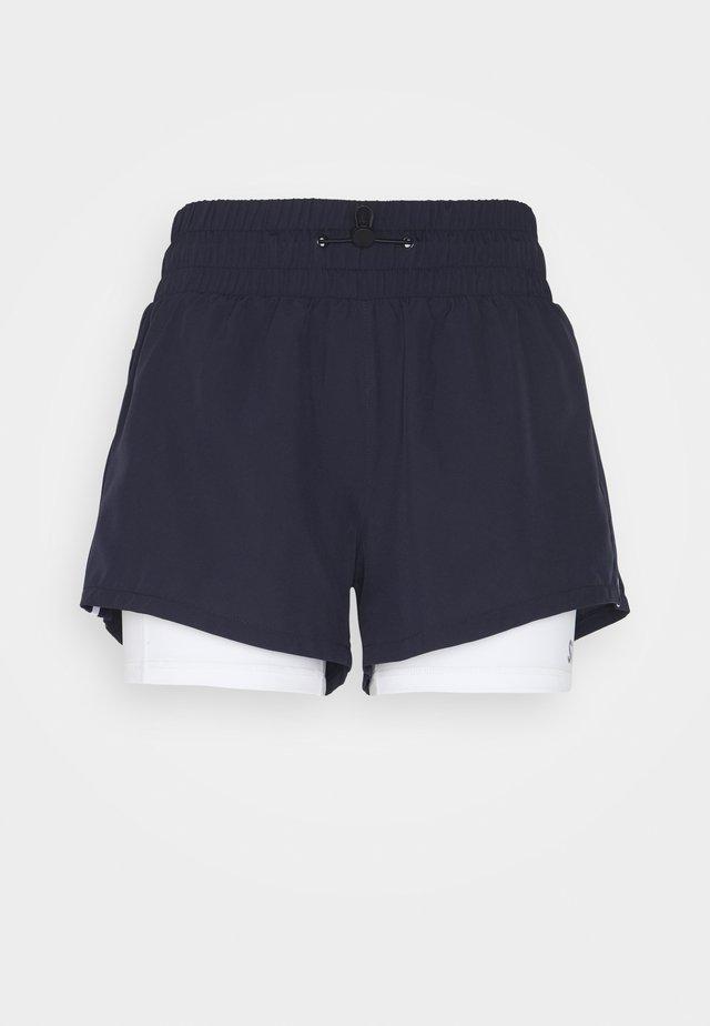 2 IN 1 SHORTS  - Sports shorts - blau