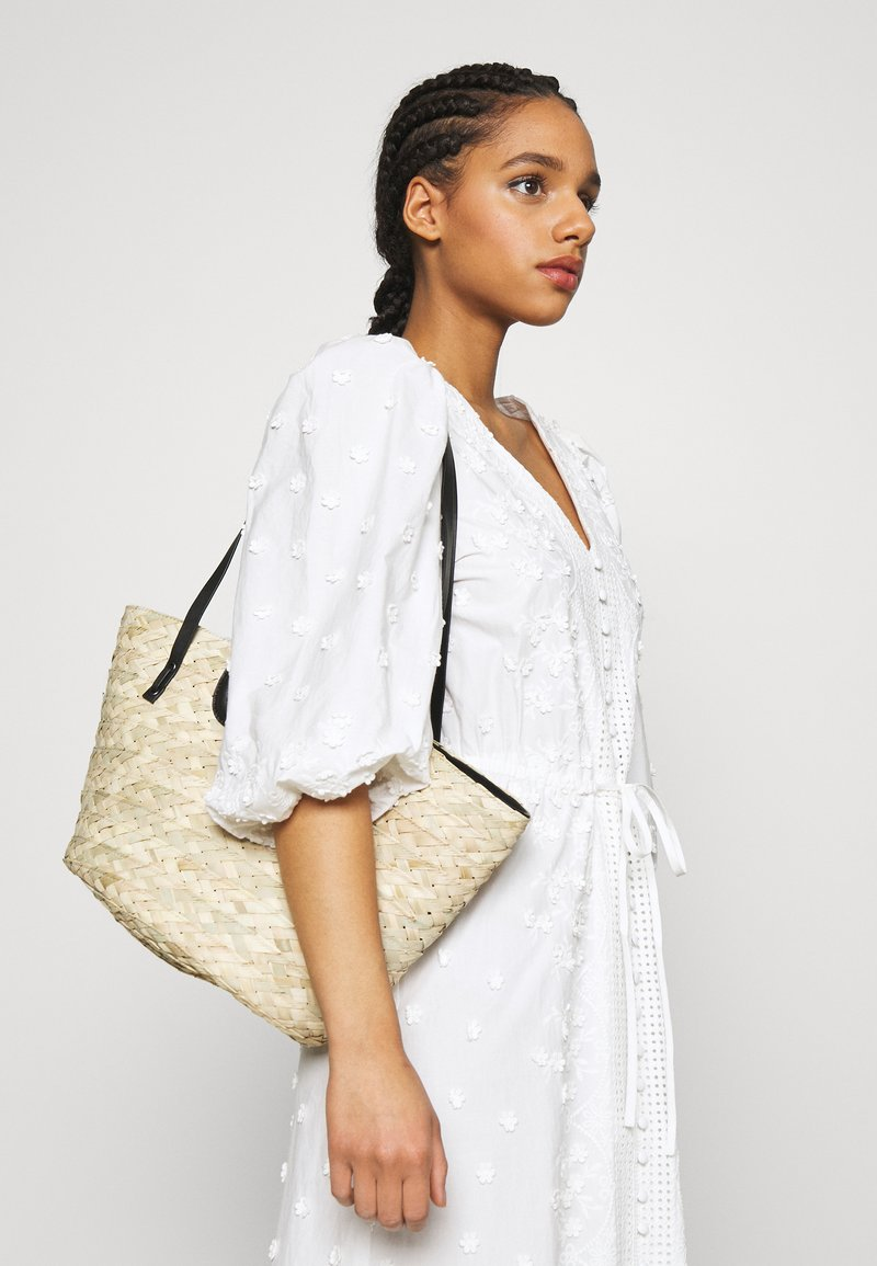 maje - BASKET - Handbag - noir